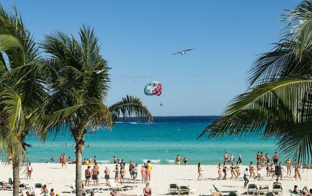 epoca para visitar caribe cancun