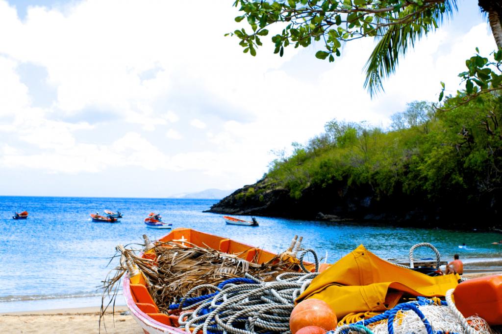 praias do caribe martinica